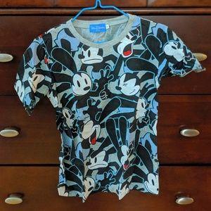 Tokyo Disney Resort Oswald Character Tee Shirt